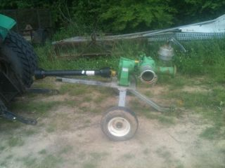 PTO Irrigation Pump Rovatti Pump
