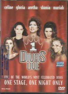 DVD VH1 Divas Live Gloria Estefan Shania Twain Aretha