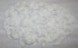 Wholesale Lot 2000 Pcs White Silk Rose Petals Wedding Flower