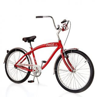 Coca Cola Go Refreshed Single Speed Cruiser Bicycle