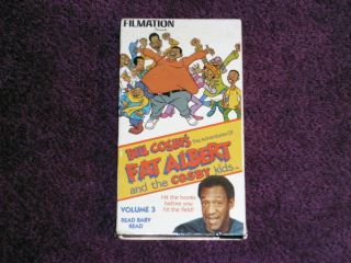 Bill Cosbys Fat Albert and The Cosby Kids Vol 3 Read Baby Read VHS