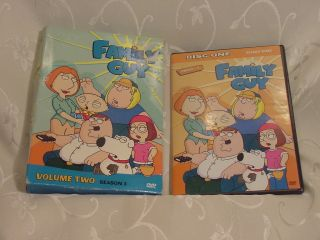 Family Guy Volume 2 Season 3 DVD Case or Disc 1 Cover