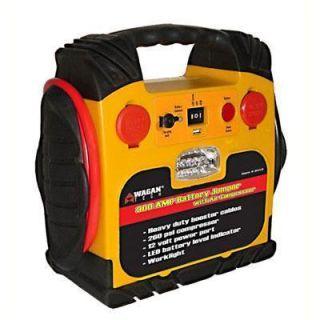 Brand New in Box Wagen Baery Jumper wih Air Compressor 300 Amp