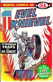 evel knievel 1 rare one shot 1974 you are bidding on evel knievel 1