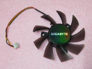 75mm GIGABYTE ATI NVIDIA Video Card Cooler Fan Replacement 40mm 3Pin
