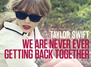 Taylor Swift We Are Never Ever Getting Back Together CD Single