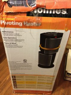 Holmes Fan Forced Pivoting Heater Great for Winter and Cold Nights
