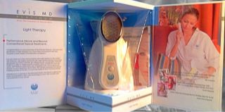 NIB Evis MD Platinum Red Light Therapy Anti Aging Device