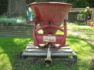 fertilizer spreader lawn and garden grass seeder three point hitch