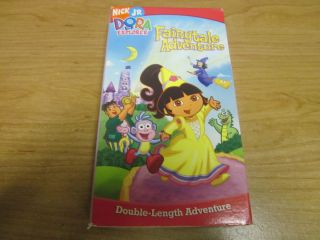 Dora The Explorer Fairytale Adventure VHS Video Nick Jr