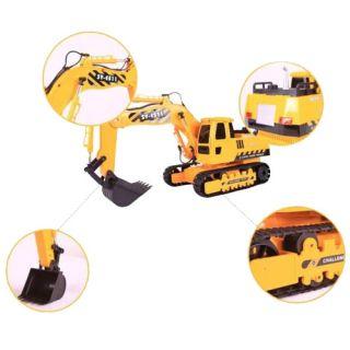 Auto Car Engineering Excavator Digger Model Remote Control Toy