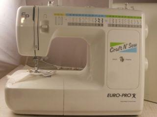 euro pro 464xc sewing machine manual