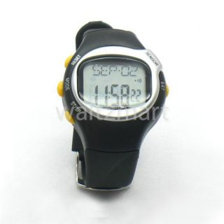 Pulse Heart Rate Monitor Calories Counter Fitness Wrist Watch Exercise