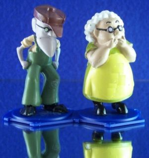 Figures Elderly Farmers Muriel Eustace Courage The Cowardly Dog
