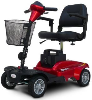 New EV Rider Minirider Metallic Red Electric Power Chair Disassembling