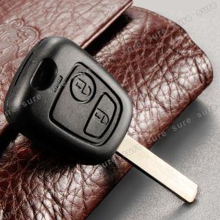 Botón Carcasa Del Mando Para Llave de Coche Peugeot 107 207 307 2B