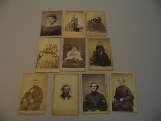 Exeter New Hampshire CDV Photographs Civil War Soldier