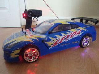 Nissan GTR Skyline Radio Remote Control Car 20MPH Fast L K