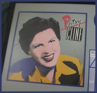 Patsy Cline Autograph Original Signature from Leaf Book
