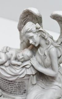 Angel Baby Memorial Statue Pregnancy Childloss Figurine