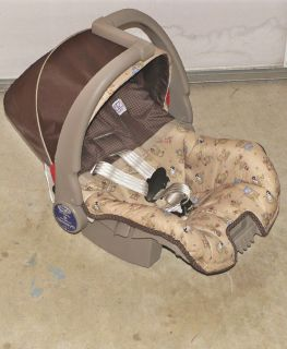 2010 EVENFLO DISCOVERY 5 CAR SEAT AND BASE INFANT REDUCED