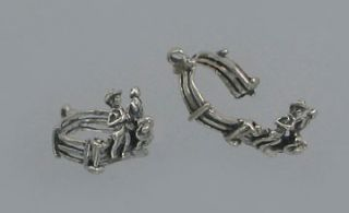 Fence Me in Sterling Silver Charm Moves