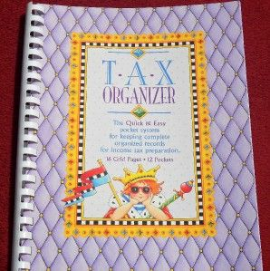 New Bill Organizer Mary Engelbreit Tax Organizer Home Desk Accessories