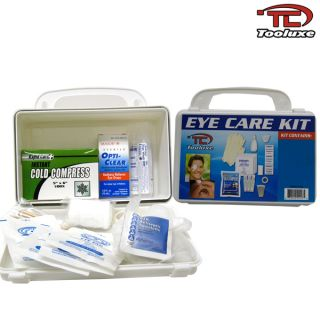 new tooluxe emergency medical eye care first aid kit eye care
