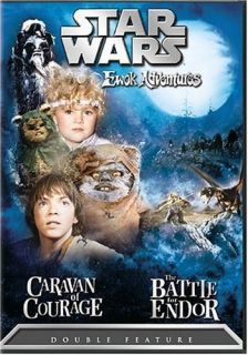 Star Wars Ewok Adventures DVD Double Feature RARE