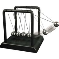 Newtons Cradle Law Executive Toy Game Knocking Balls