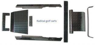 EZGO Golf Cart Parts Diamond Plate Package