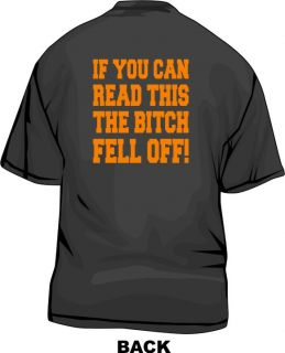 If You Can Read This The Bitch Fell Off Mens Tee Shirt