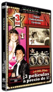 Coqueta 1983 3 En 1 Lucero Pedrito Fernandez New DVD