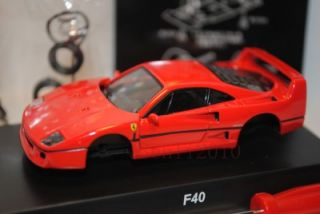 64 ferrari vii f40 diecast model by kyosho color red