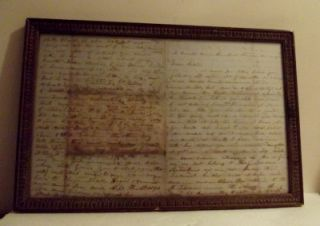 Confederate 1861 Civil War Four Page Letter 6th Regiment Alabama