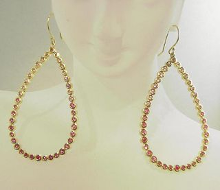 Fab Estate 18K IPPOLITA Pink Sapphire Dangle Earrings