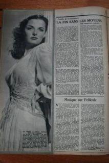 1945 Maria Montez Erich Von Stroheim Jane Russell