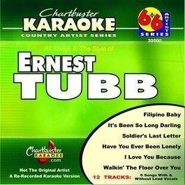 Chartbuster Karaoke CDG 20500 Ernest Tubb