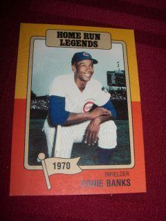 Ernie Banks Big League Chew Home Run Legends