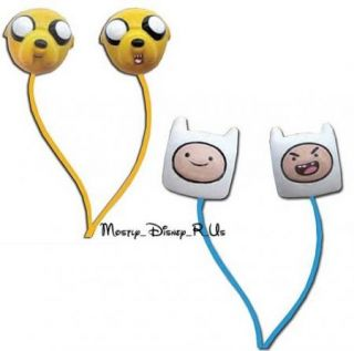 Adventure Time with Finn and Jake Best Buds Earbuds Headphones Gift