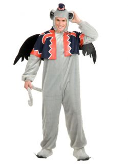 Adult Medium 40 42 Winged Wizard of oz Flying Monkey Costume