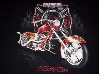 American Chopper Firebike T Shirt Mens XXL Motorcycle