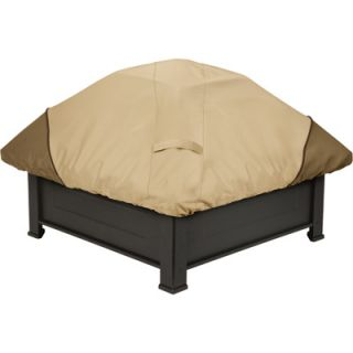 Classic Accessories Fire Pit Cover Fits Round Pits Large Pebble