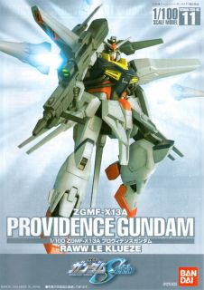 Gundam Seed 1 100 11 Providence Anime Manga Model Kit