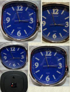 Big Wall Clock 12 x12 inch 4 Kitchen Dining Den Bedroom Quartz