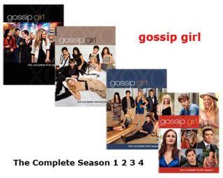 Gossip Girl The Complete Season 1 2 3 4 (DVD, 2008, 5 Disc Set)