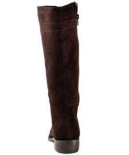 Easy Spirit Womens Shoes Falco Brown Suede Leather Boots