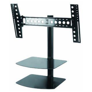 Tilt Swivel Wall Mount for 32 55 inch LED LCD Plasma 3D HDTV w 2 AV