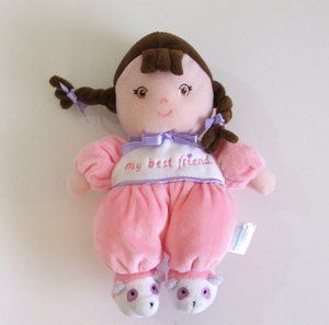 Garanimals My Best Friend Soft Plush Rattle Lovey Doll Dolly Lovie