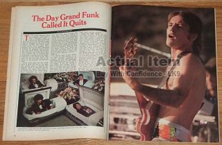 Plant Queen Freddie Mercury Grand Funk Mark Farner Moonies L